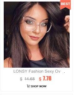 Lonsy  1 15 2 25 3 35 40 модный квадратный ретро готовой близорукость