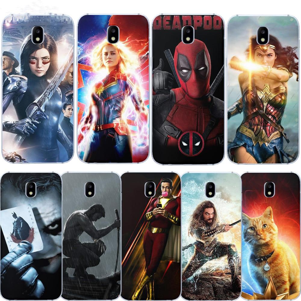 Avengers Marvel Iron Man Coque For Samsung Galaxy S6 S7 Edge S8 S9 S10 Plus Printed Etui Funda Soft Silicone Thanos Phone Case