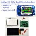 Новинка, WSC Hightlight IPS ЖК-экран, Набор для творчества, яркость подсветки для Bandai WonderSwan Color для игровой консоли Wonder Swan