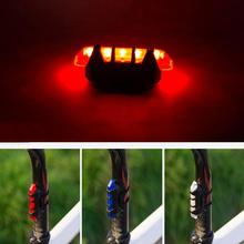 цена на New Bicycle Light Cycling MTB Waterproof Taillight LED USB Rechargeable Mountain Bike Safety Warning Light Taillight