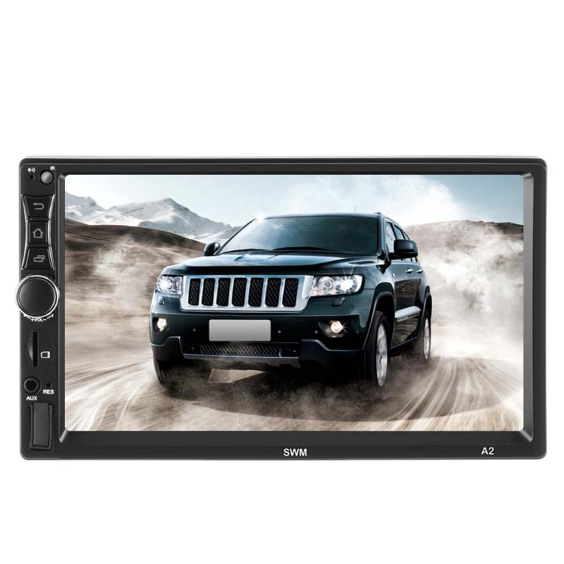 SWM A2 Upgraded 2DIN 7inch Android 9.1 Car Multimedia Player Bluetooth WIFI Car Stereo GPS Bluetooth Auto Radio Autoraido image