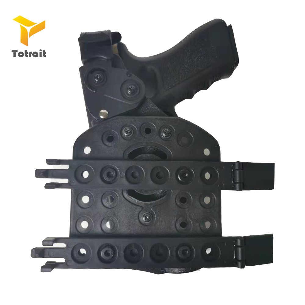 TOtrait MOLLE kılıfı platformu Airsoft Strike adaptörü Fit Safariland USP/1911/Glock17/P226 kılıfı platformu silah aksesuarları