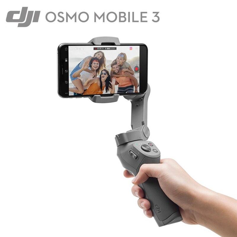 DJI Osmo Mobile 3 cardan téléphone stabiliser pliable poche cardan contrôle gestuel amélioré Osmo 2