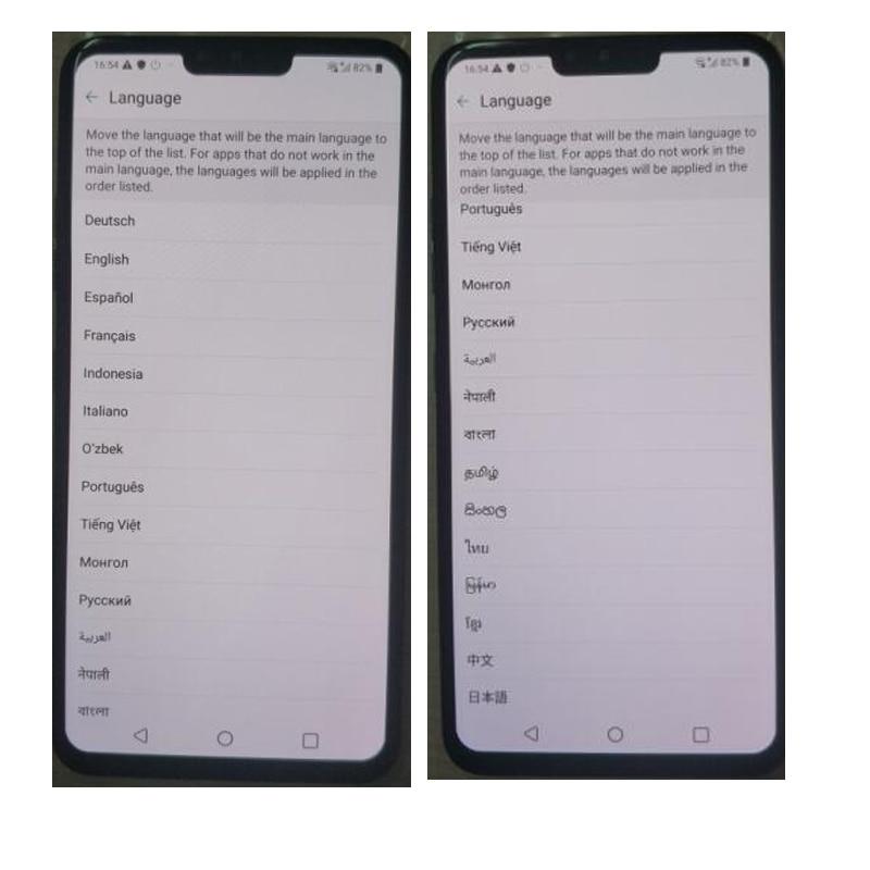 """Разблокированный LG V40 ThinQ 6,"""" Qualcomm845 6 ГБ ОЗУ 64 Гб/128 Гб ПЗУ 3+ 2 камеры(без иврита/польского языка"""