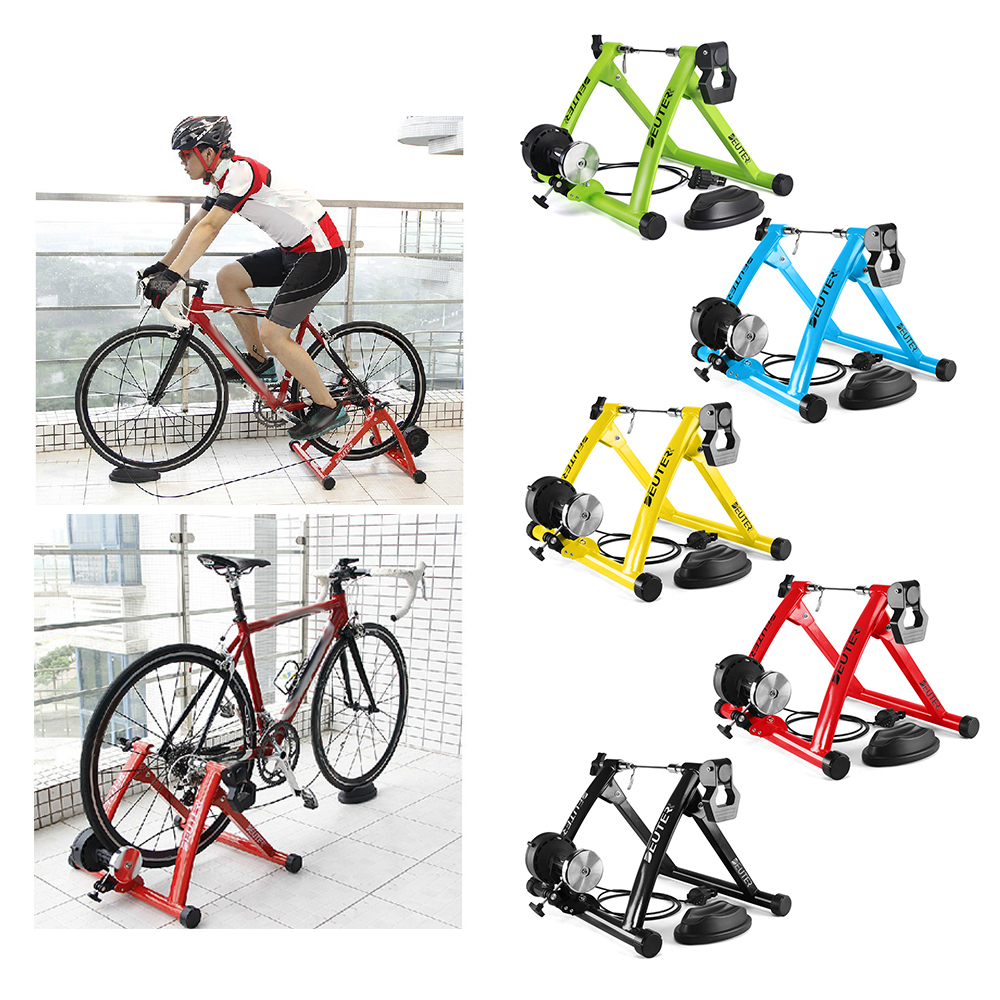 Road Bike Wheel Stand Station Bike Trainer Booster Device Riding Station