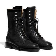 Женские ботинки; женская обувь; брендовые ботинки в байкерском стиле; Botines Mujer; ботинки с перекрестной шнуровкой; Новинка; Botas Mujer; гладиаторы; Bota Feminina