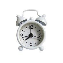 Креативный милый мини металлический маленький будильник домашний прикроватный столик для гостиной украшения электронные часы детская комната украшения