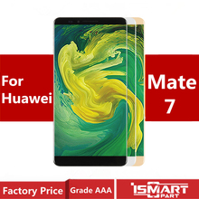 original For HUAWEI Mate 7  MT7-TL10 MT7-TL00 MT7-UL00 MT7-L09 LCD Display Touch Screen Digitizer  Parts with frame Replacement suitable for huawei ascend mate 7 l09 mt7 tl10 lcd screen display touch panel digitizer assembly full replacement parts