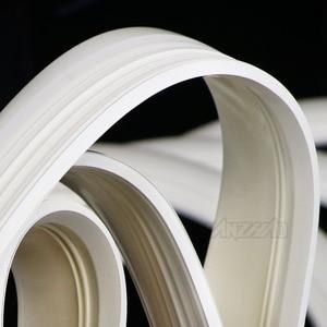 "Image 3 - 4 pçs/set 12 ""branco retro borracha roda hub lado adesivo, anel para piagem vespa gts gtv sprint primavera scooter 12 polegadas 150"