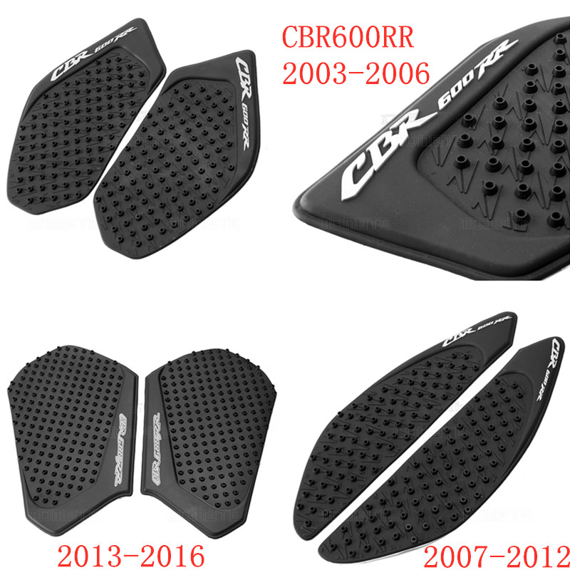 For Honda CBR600RR 2003 to 2014 2015 2016 <font><b>2017</b></font> 2018 2019 CBR 600RR CBR 600 RR Stickers Motorcycle Anti slip Tank Pad Stickers image