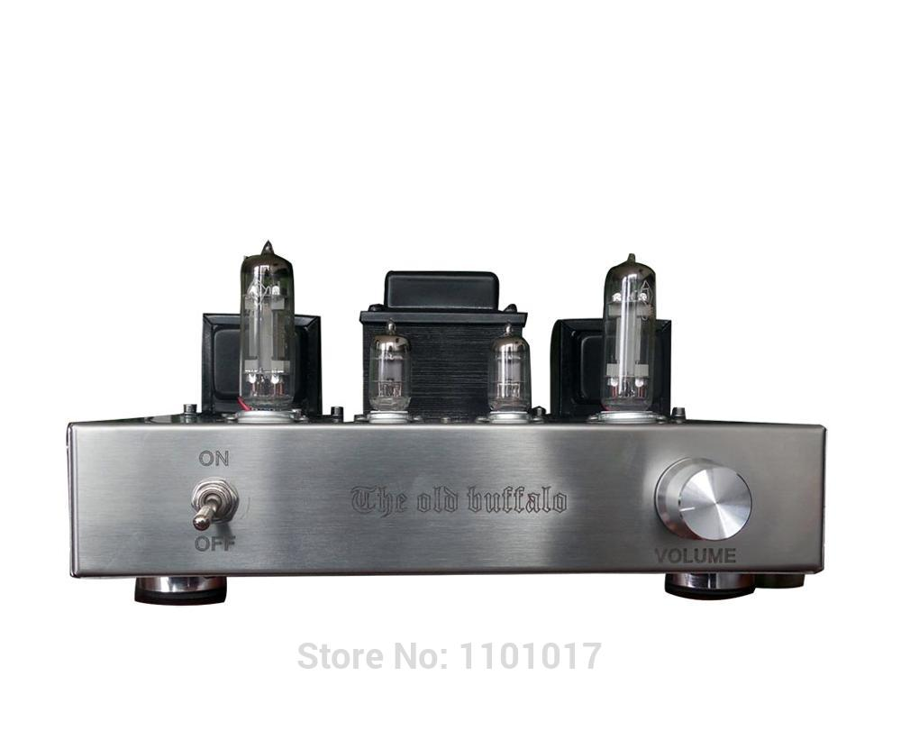 OldBuffalo 6C19 6S19 Tube amplifier HIFI EXQUIS handmade silver wire scoffolding triode lamp amp