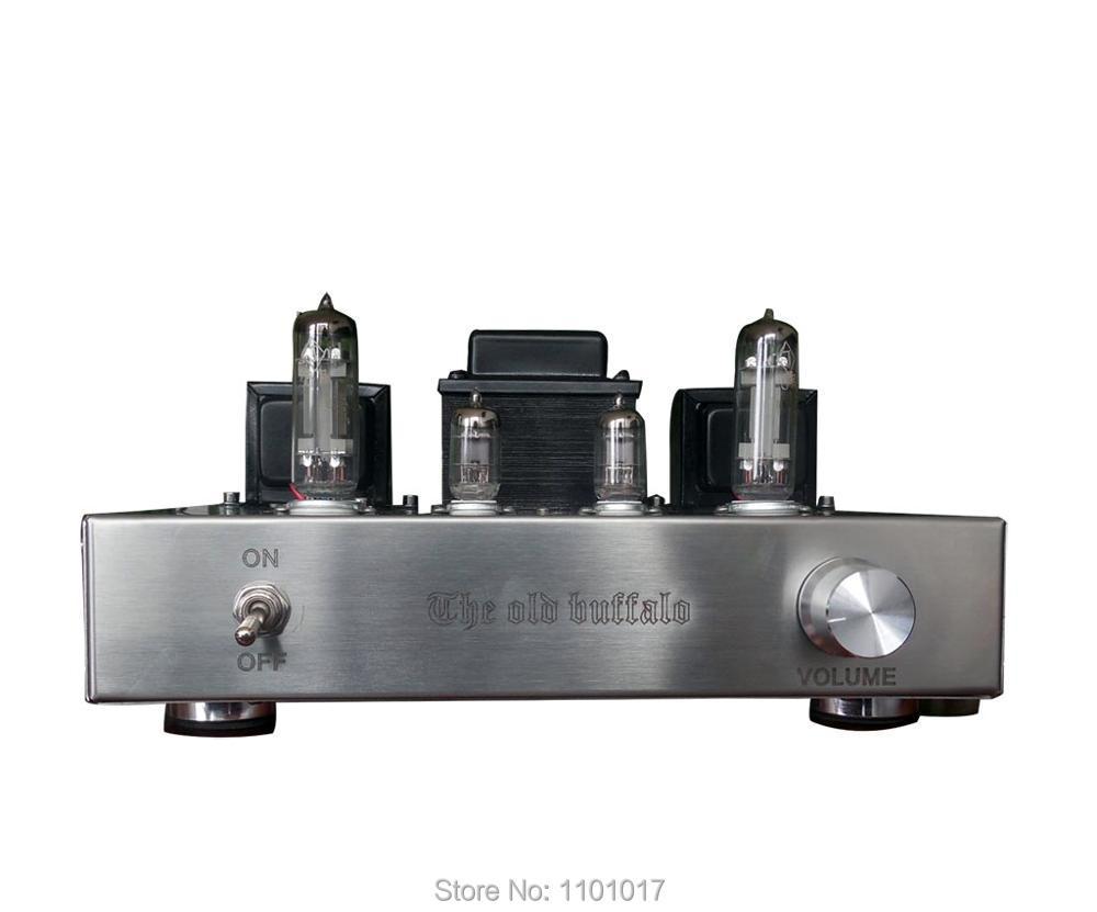OldBuffalo 6C19 6S19 Tube Amplifier HIFI EXQUIS Handmade Silver Wire Scoffolding Triode Lamp Amp