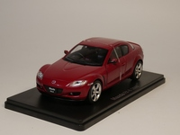 Hachette 1:24 Mazda RX 8 2003 Japanese car collection Diecast model car