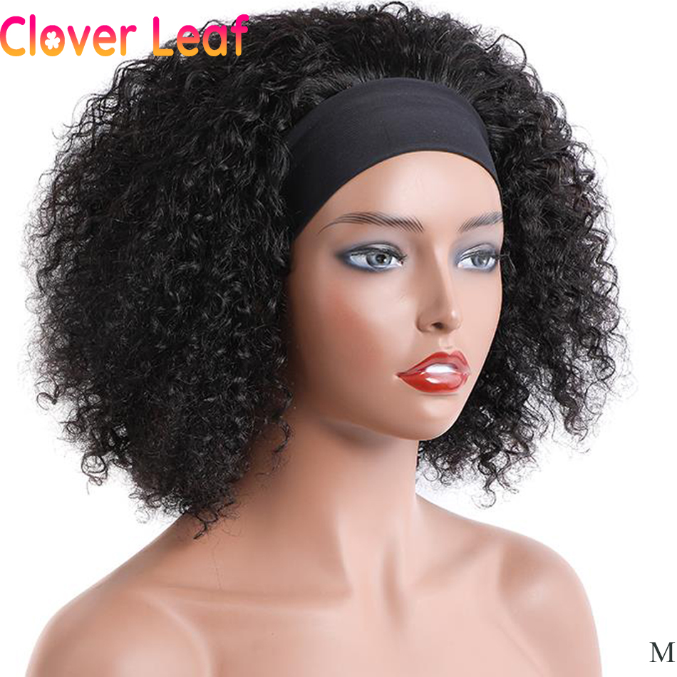 Folha de trevo especial encaracolado bandana perucas