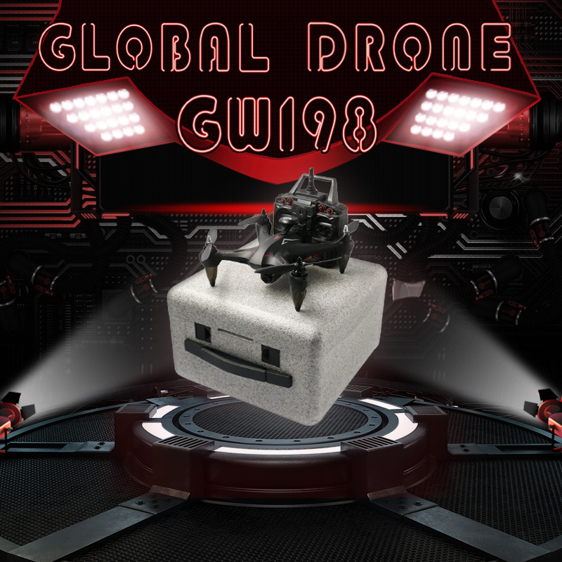 Global Drone Gw198 VS B5w Brushless Ultra-long Life Battery GPS Unmanned Aerial Vehicle Aerial Remote-control Aircraft