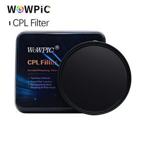 Image 5 - Polarisatie Filter Wowpic Cpl Filter 49 52 Mm 55 58 Mm 62 67 72 77 Mm 82 Mm Lens Filtre foto Voor Canon Nikon Sony Penter Dslr Cam