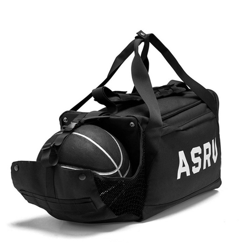 ASRV Sports Gym Bag Waterproof Bags Men Fitness Women Yoga Training Handbag Shoe Compartment Travel Sac De Sport Basketball Bag