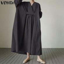 Женский сарафан винтажное длинное платье макси женское vonda