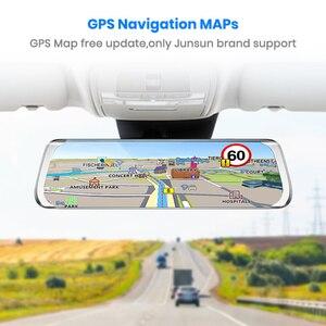 """Image 5 - Junsun A930 ADAS 4G 10 """"IPS araba dvrı kamera ayna çizgi kam Video kaydedici Full HD 1920x1080 arka dikiz aynası Android işletim sistemi WiFi GPS"""