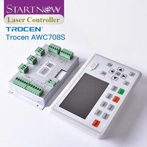 Image 5 - Trocen awc708s 7813 placa de controlador do laser co2 substituir ruida sistema cnc cartão controle 708c para peças sobresselentes da máquina corte a laser