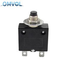 1 pc redefinir interruptor térmico 10a 15a 20a 25a 30a 40a 50a proteção contra sobrecarga disjuntor protetor de sobrecarga