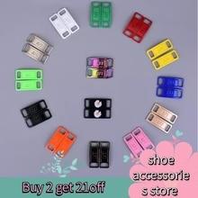 2шт% 2Fpair шнурки пряжка металл шнурки AF1 шнурки пряжка аксессуары металл шнурок замок DIY кроссовки комплекты металл шнурок пряжка