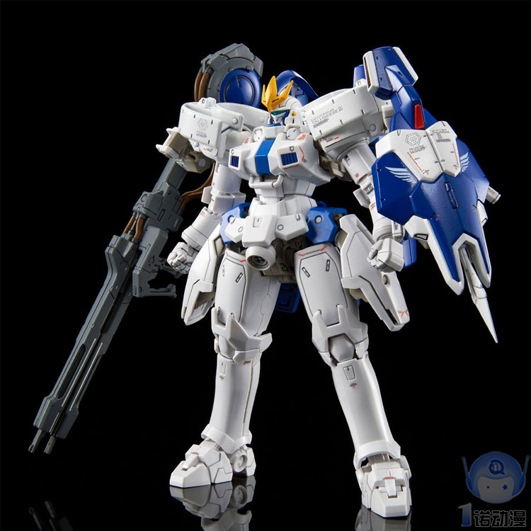Gundam W Model PB RG 1/144 TALLGEESE 3 III EW Delta Armor Unchained Mobile Suit Kids Toys BANDAI