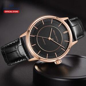 Image 5 - Seagull мужские часы автоматические механические часы Классическая серия Бизнес повседневные водонепроницаемые сапфировые часы 519.12.6061