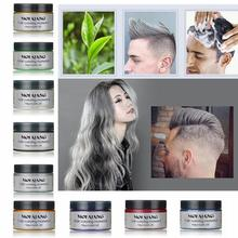 8Colors Hair Color Wax hair