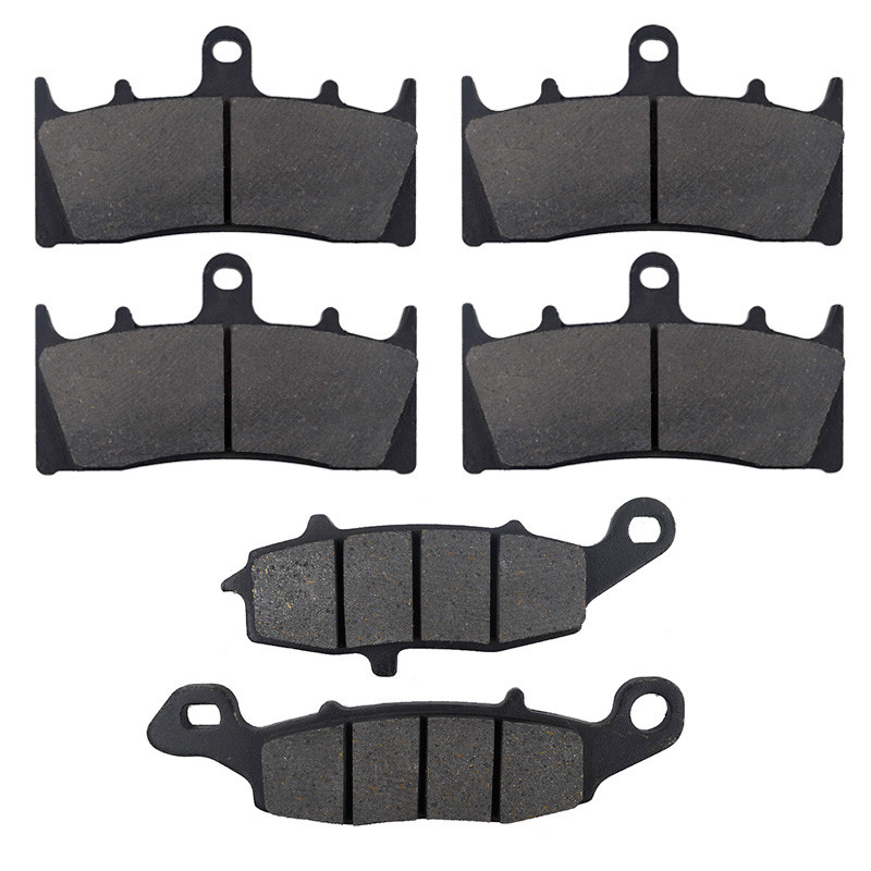 Motorcycle Front and Rear Brake Pads for Kawasaki VN 1600 VN1600 B1 2004 <font><b>VN1500</b></font> VN 1500 P1 /P2 Mean Streak 2002 2003 2004 image