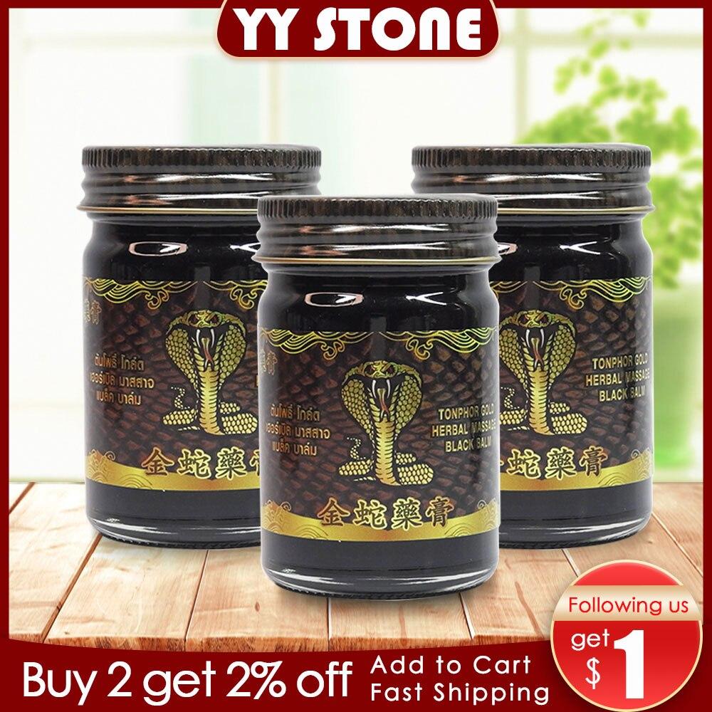 Pomada de Tigre y serpiente dorada Original alivio del m sculo articular b lsamo relajante aceite