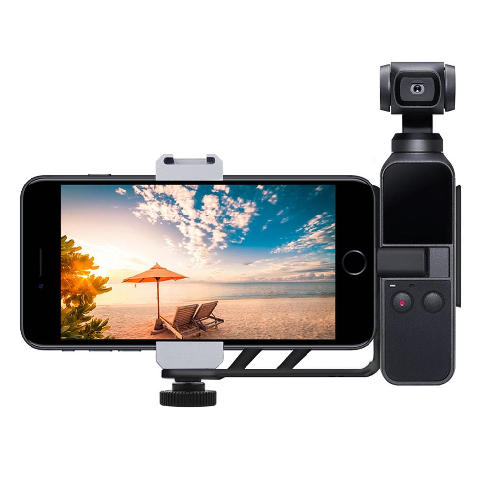 Cellphone Extension Mount For DJI OSMO Pocket Gimbal Camera Phone Bracket Set Cold Boot Interface