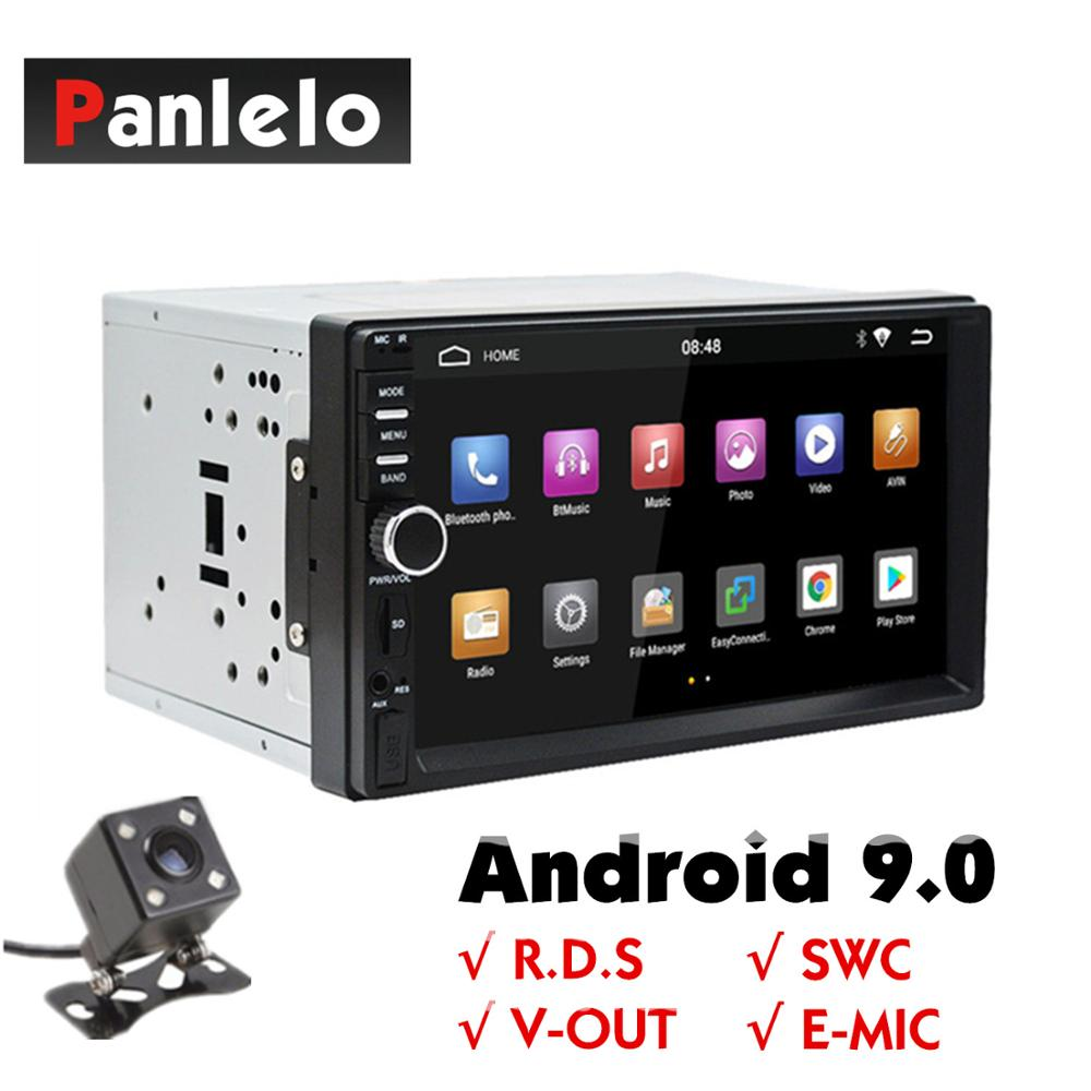 2 Din Android 9 GPS Navigation Car Stereo 7 1024*600 Touch Screen 1GB+16GB Car Radio Autoradio Wifi Bluetooth FM USB Car Audio image