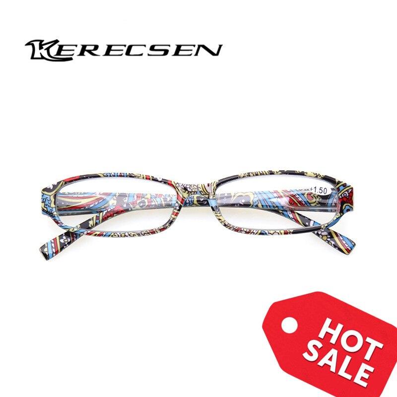 Henotin Novo impresso óculos de leitura mulheres primavera dobradiça oval quadros leitores óculos de qualidade 1.0 1.5 2.0 2.5 a 6.0