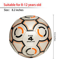 High Quality Soft TPU Material Football Soccer Ball For Men Women Youth Outdoor Indoor Play Games Team Sports Training Size 4