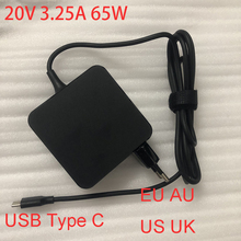 цена на 65W  USB Type C 20V 3.25A Universal Laptop Charger Adapter Power Supply for Asus Lenovo HP Dell Xiaomi ADL-65A1 EU Plug