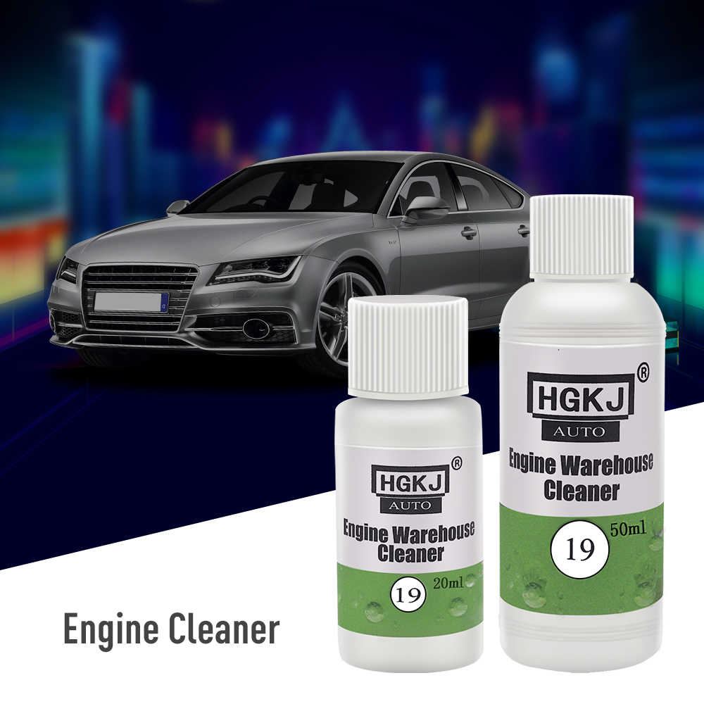 HGKJ-19 20ML Dilute with Water 1ml Cleaner=8ml Water Engine Compartment Cleaner Removes Heavy Oil Car Window Cleaner Cleaning
