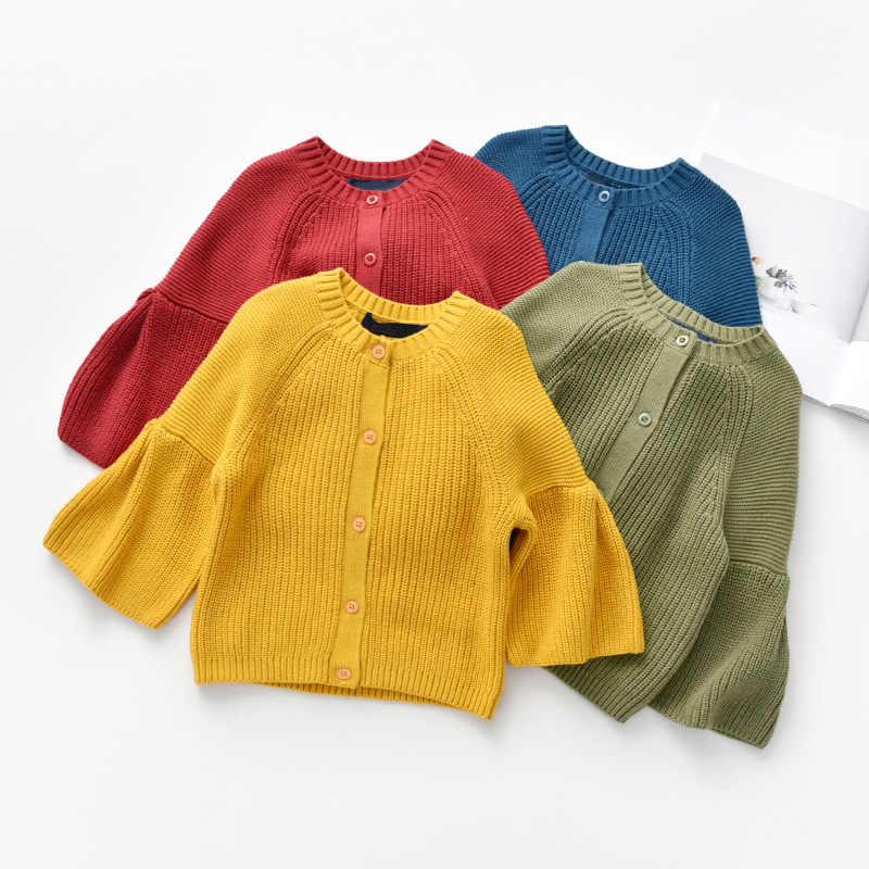 2019 kız sonbahar ve kış yeni stil kore tarzı moda pamuk çocuk moda hırka çocuk kazani moda Can P