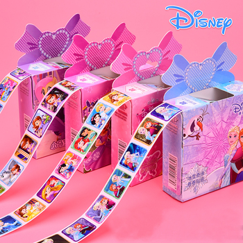 200pcs Disney Cartoon Stickers Frozen 2 Elsa And Anna Princess Sofia Little Pony Pixar Cars Kids Removable Stickers Makeup Toy image