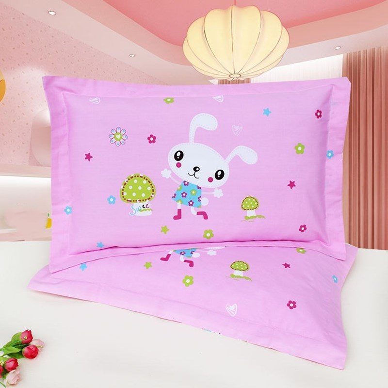 1 Piece Animal Cartoon Kids Pillow Case Anti-dirty Cover For Infant Pillow Bedding Pillow Cover Printed Children Pillowcase