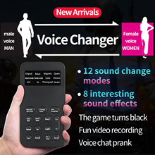 Voice-Changer Game-Machine Mobile-Phone Different-Sound Computer Tablet 20 for Any Ect