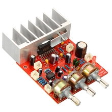 цена на TFA9844 Audio Power Amplifier Board 20Wx2 2.0 Channel DC12V Stereo Sound HIFI Amplifier Speaker Amp Home Theater DIY
