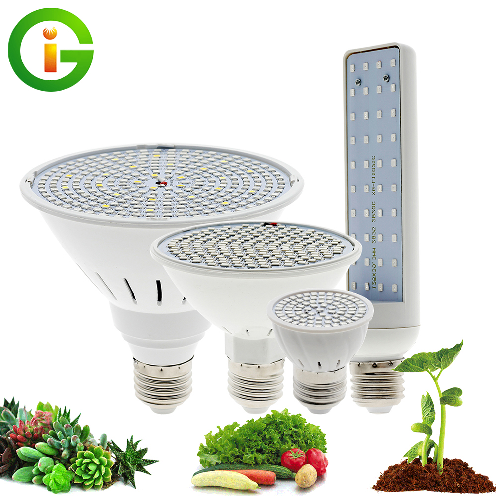LED Grow Light Bulb Full Spectrum E27 Phyto Lamp 220V Growth Light   Hydroponic Growing Lamp For Plants Flowers Seedlings