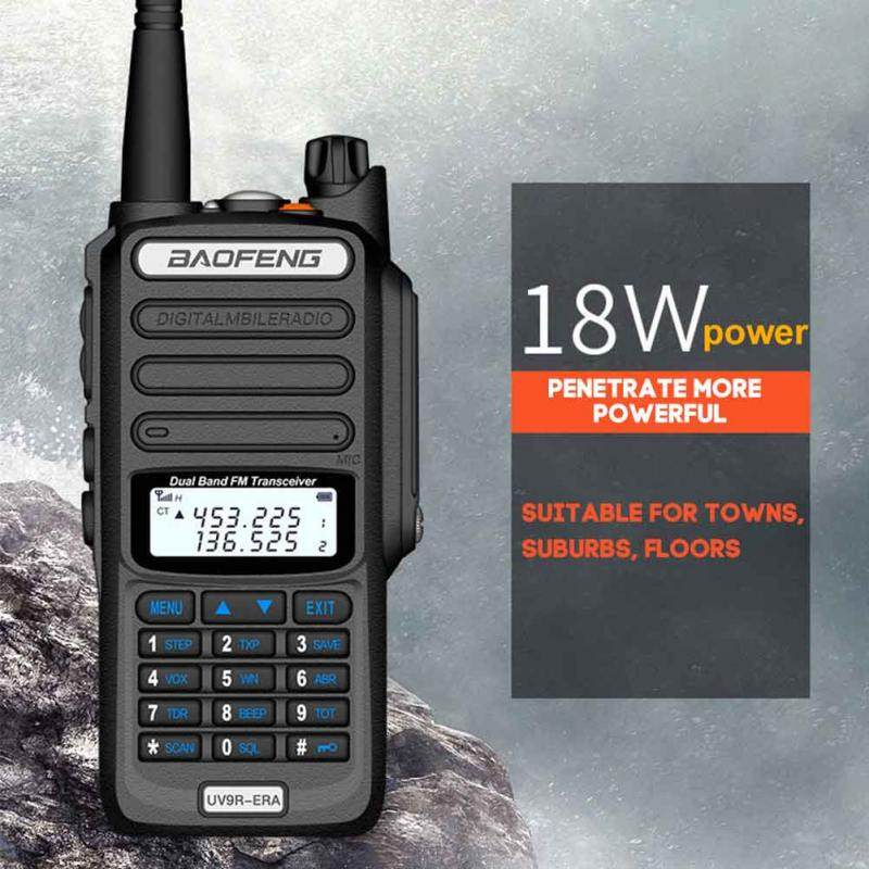 Baofeng UV9R-ERA new Walkie Talkie 128 Channel 9500mAh 18W Radio HF Transceiver VHF UHF Handheld Two Way Radio IP68 Waterproof