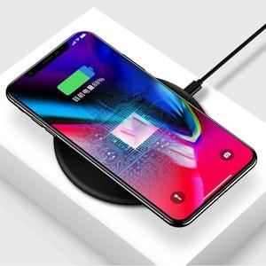 Image 5 - Drahtlose Ladegerät Für Huawei Y9 2019 Y3 Y5 Y6 Y7 Pro 2018 Y7 Prime 2017 Wireless Charging Pad Qi Empfänger handy Zubehör