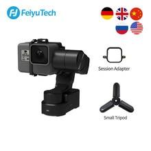 Feiyutech oficial wg2x ação câmera estabilizador wearable montável gimbal tripé para gopro hero 8 7 6 sony rx0 yi splash-proof
