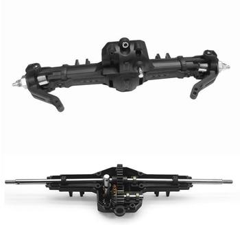 цена на Hg p601 Front and Rear Gear Box for 1/10 RC Axle HG P401/P402/P601 Crawler Truck Car HG-BX02 1/10 HG RC Off Road Car Parts