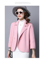 New Fashion 2019 Designer Women's Blazer runway Jacket Buttons Casual Slim Women blazers Female 2019 plus size Cotton Coat S0161