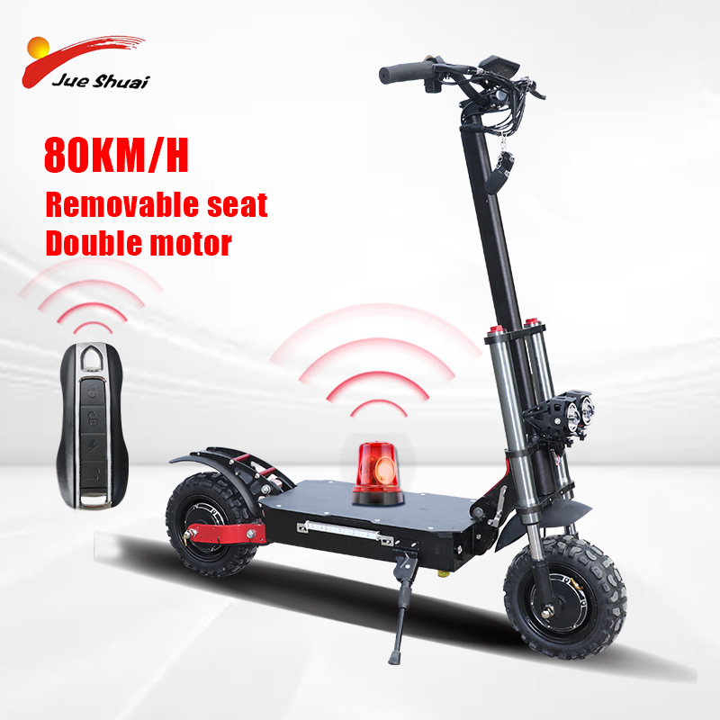 EU RU Duty Free No Tax 2020 dual motor electric scooter 3200w e scooter <font><b>Samsung</b></font> <font><b>60V</b></font> 35AH battery two wheel foldable skateboard image
