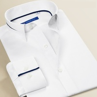 Smart Five Long Sleeve Dress Shirts Men Slim Fit Camisa Masculina Modis Formal Business Party White Mens Shirt Plus Size 6XL